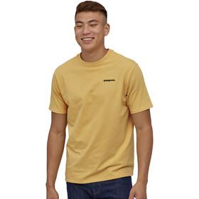 Patagonia P-6 Logo Responsibili Tee Men surfboard yellow